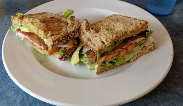 Welcome To Lucky Buck Cafe - BLT