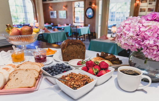 Welcome To The Panama Hotel Restaurant - Homemade Breads and Fresh Fruit