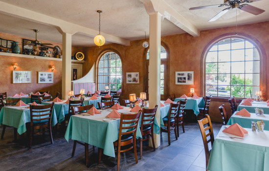 Welcome To The Panama Hotel Restaurant - Indoor Dining Room