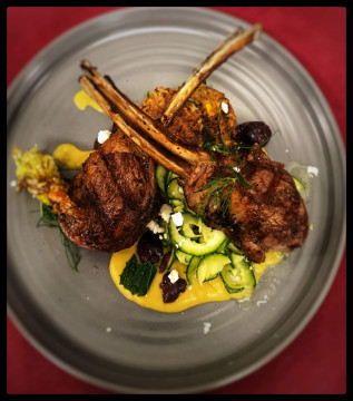 Taste Restaurant and Wine Bar - Lamb Chops